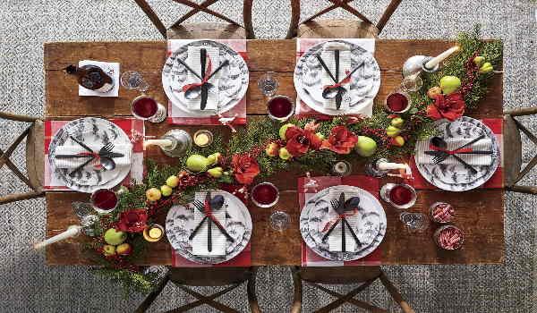 Maak je feestelijk gedekte tafel af met mooi gevouwen servetten