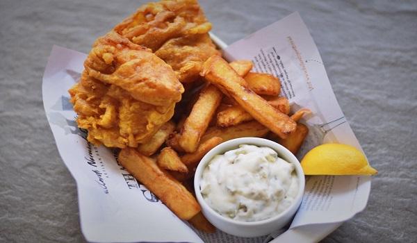 Zelf 'Fish and chips' maken