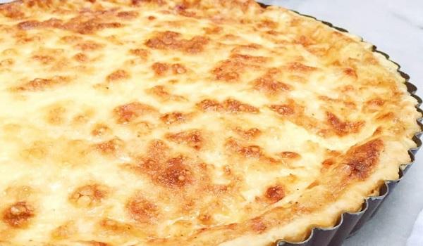 Prei/Tomaat/Champignon Quiche van croissantdeeg maken